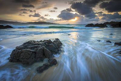 Photograph - La Fragata Beach Galicia Spain by Pablo Avanzini