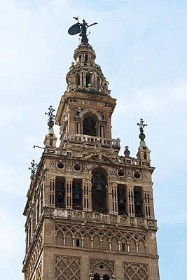Photograph - La Giralda In Detail by Lorraine Devon Wilke