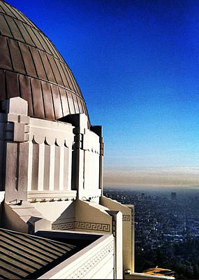 Photograph - La Griffith Observatory Afternoon by Gabe Arroyo