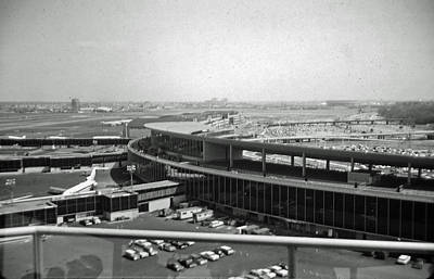 Photograph - La Guardia Airport 1939 - 1964 by John Schneider