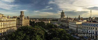 La Habana Cuba Capitolio Art Print