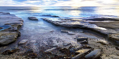 Photograph - La Jolla Blue Water by Dusty Wynne