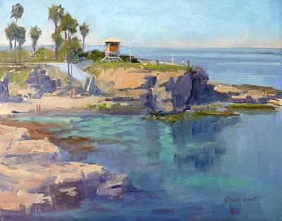 Painting - La Jolla Coast by Sharon Weaver
