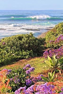 Photograph - La Jolla Coastline by Jane Girardot
