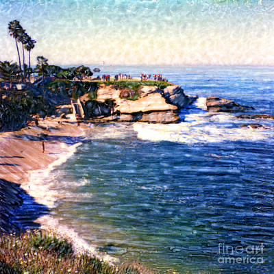 Photograph - La Jolla Cove by Glenn McNary