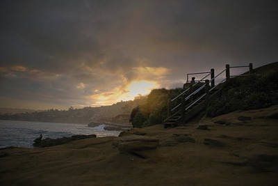 Photograph - La Jolla Cove Sunrise by Jeremy McKay