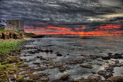 La Jolla Cove Sunset Art Print