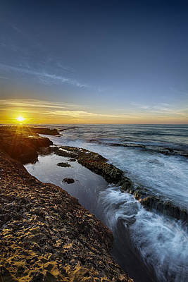 Photograph - La Jolla New Year King Tide 2 by Scott Campbell