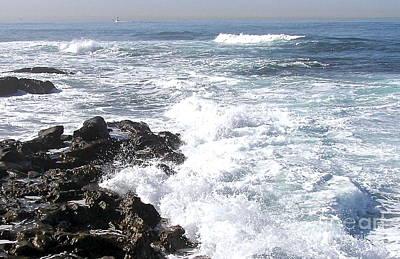 Photograph - La Jolla Seascape by Carol  Bradley