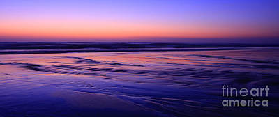La Jolla Shores Twilight Art Print