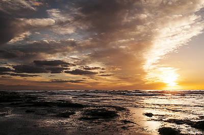Photograph - La Jolla Sunset 4 by Lee Kirchhevel