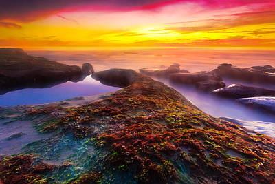 Photograph - La Jolla Sunset by Ben Graham