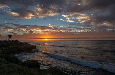 Wall Art - Photograph - La Jolla Sunset by Scott Hafer