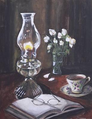 Painting - La Lampe by Kim Selig
