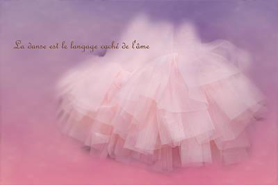 Photograph - La Langage Cache De L'ame by Paulette B Wright