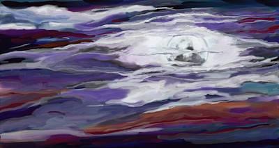Painting - La Luna 2 by Jeanne Fischer