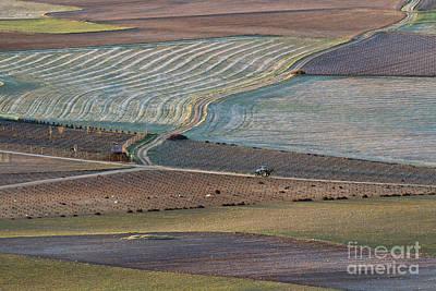 Landscape Photograph - La Mancha Landscape - Spain Series-ocho by Heiko Koehrer-Wagner