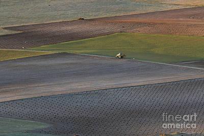 La Mancha Landscape - Spain Series-siete Art Print by Heiko Koehrer-Wagner