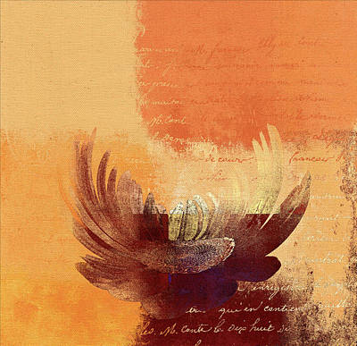Abstract Realism Digital Art - La Marguerite - 194191203-ro02t by Variance Collections
