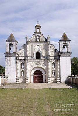 Photograph - La Merced Church 2 Gracias Honduras by John  Mitchell