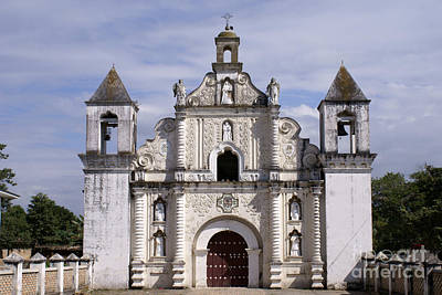 Photograph - La Merced Church Gracias Honduras by John  Mitchell