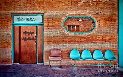 Photograph - La Mina Cantina by Diane Enright