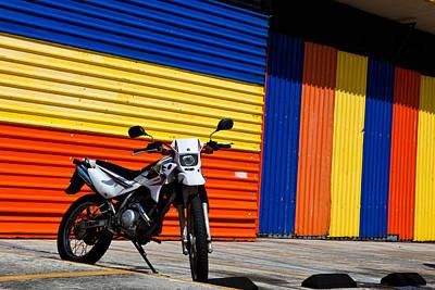 Photograph - La Motocicleta by Melinda Ledsome