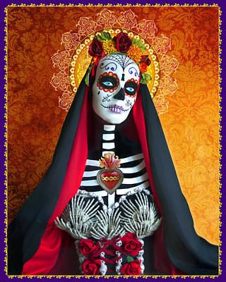 The Virgin Mary Photograph - La Muerte by Tammy Wetzel