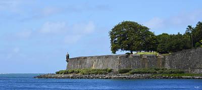 Photograph - La Muralla-old San Juan by Shanna Hyatt