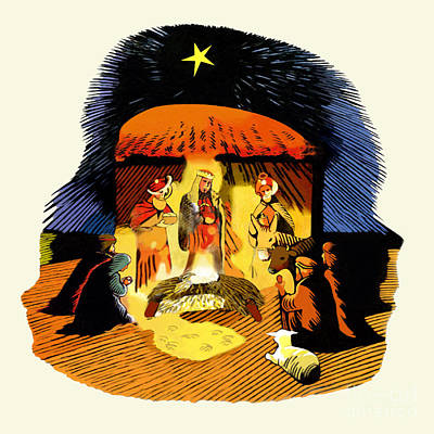 La Natividad Art Print by Roger Kohn