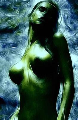 Nymphe Painting - La Nymphe by Steve K