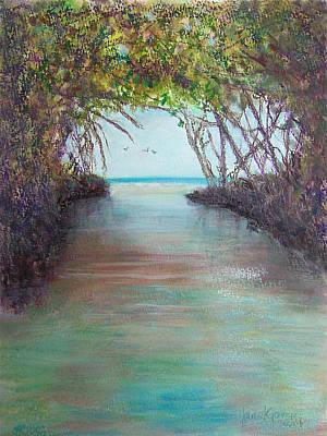 Painting - La Parguera by Janet Garcia