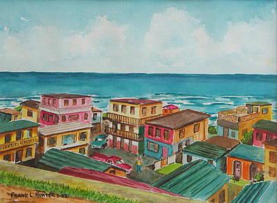 La Perla San Juan Pr Art Print