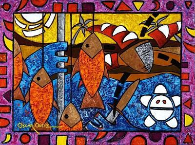 La Pesca Virgen De Un Hombre Honrado Art Print