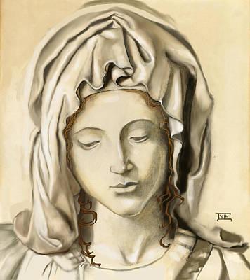 La Pieta 2 Art Print