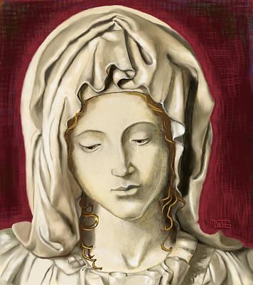 La Pieta 3 Art Print