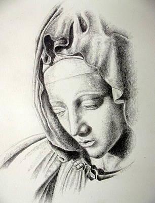 La Pieta Madonna Art Print