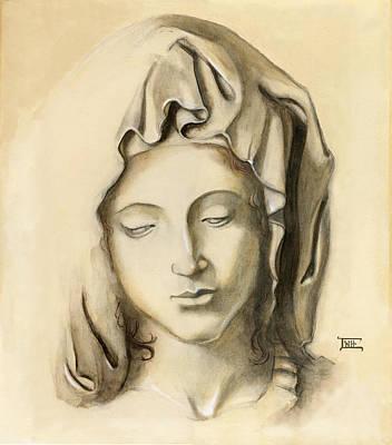 La Pieta-progression 1 Art Print
