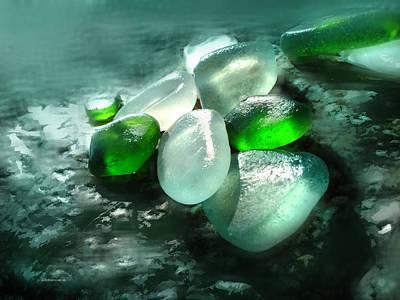 La Playa De Los Cristales  Art Print