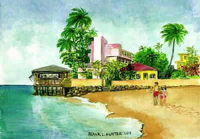 La Playa Hotel Isla Verde Puerto Rico Art Print