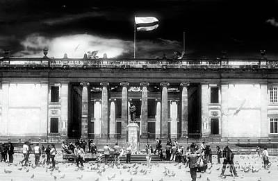 Photograph - La Plaza De Bolivar by John Rizzuto