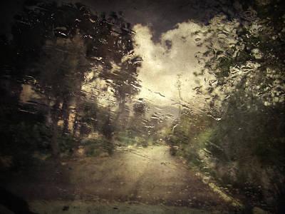 Rainy Day Photograph - La Pluie 4.45 by Taylan Apukovska