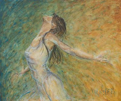 Painting - La Primavera II by Nik Helbig