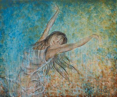 Painting - la Primavera by Nik Helbig