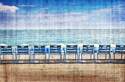 Beach Towns Photograph - La Promenade Des Anglais by Delphimages Photo Creations