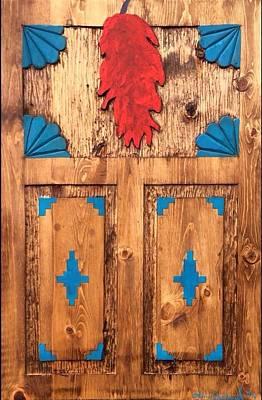 La Puerta Humilde Original by Adrian Sandoval