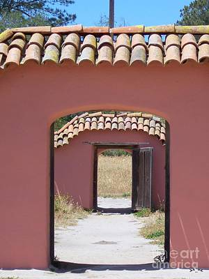 La Purisima Doorways Art Print