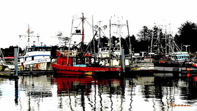 Photograph - La Push Wa Marina by Sadie Reneau