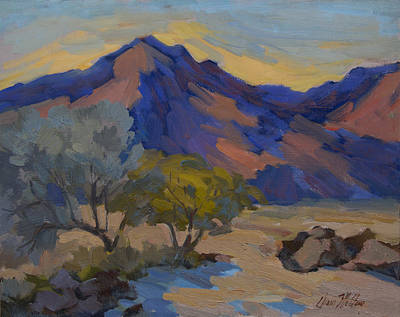 Painting - La Quinta Shadows by Diane McClary