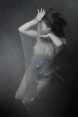 Net Photograph - La Red by Olga Mest